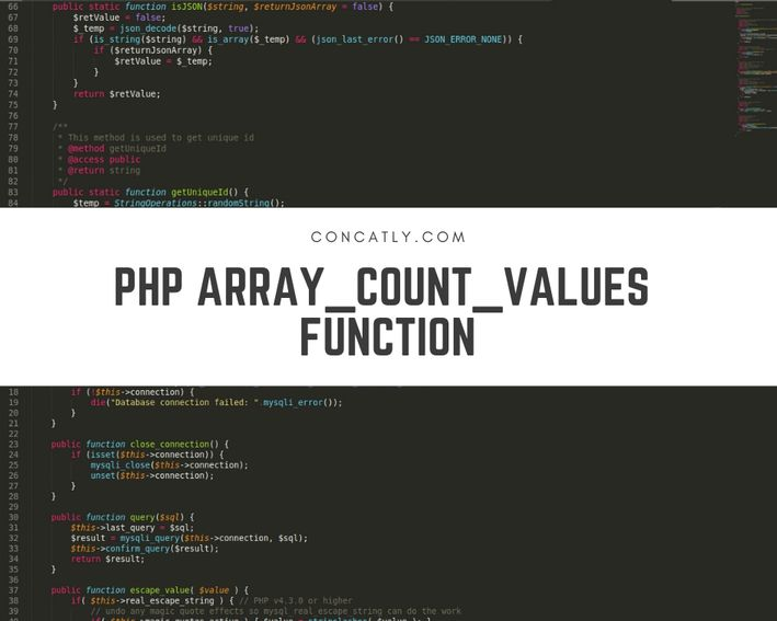 PHP array_count_values Function | Count of Values in Array